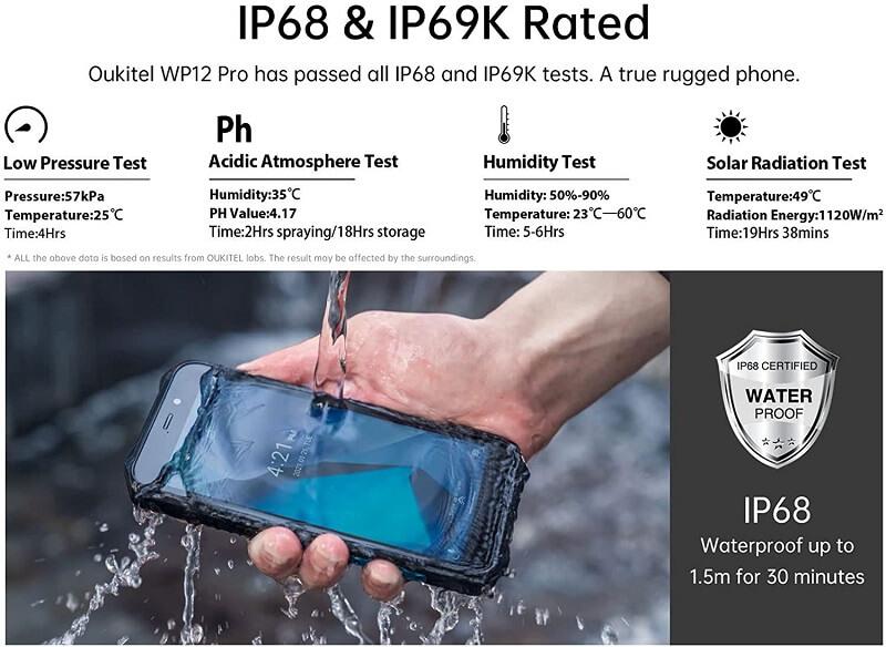 Oukitel WP12 Pro